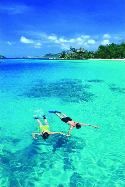 snorkel-in-the-clear-azure-waters
